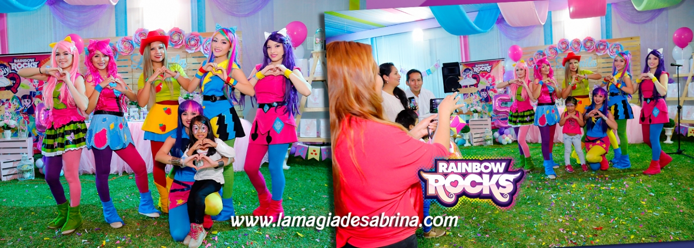 Show Infantil Equestria Girls Rainbow Rocks