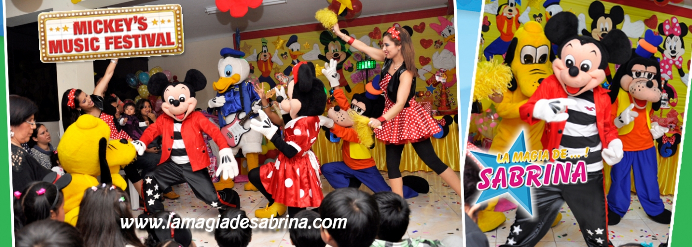 Show Infantil Mickey Mouse