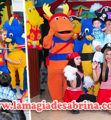 LOS BACKYARDIGANS